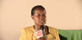 Bungoma County Executive Committee Member for Education, Youth and Sports Beryl Mutekhele