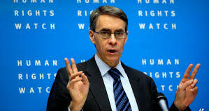Human Rights Watch Exec. director called for security agencies to be more humane