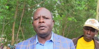 Mumias East MP Benjamin Washiali