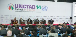 delegates at UNCTAD summit