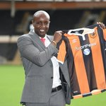 SportPesa CEO with Hull City shirt