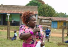 Kakamega County CEC for Health Mrs Peninah Mukabane