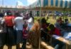 Residents who turned up for medical camp