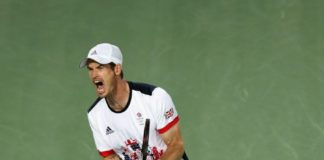 Andy Murray overcame Del Potro