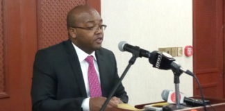 Nicholas Muraguri, Health principal secretary during a health workshop in Nairobi