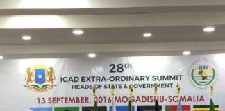 IGAD summit has been officially opened in Somalia