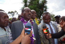 Nandi County governor Dr Cleophas Lagat at a past function