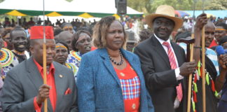Leaders from West Pokot have called for prevailing peace in the region