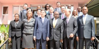 The Chinese government has pledged to support Kenya in the fight against corruption