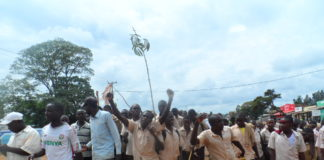 The vile act that led to demonstrations by Samoya students has been condemned by various leaders