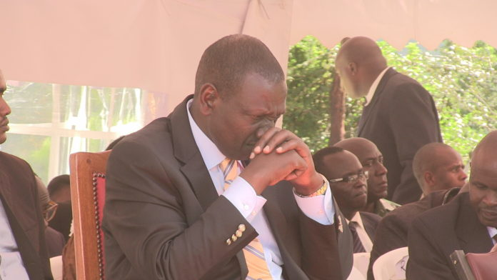 Deputy President William Ruto has affirmed he is ready for a lifestyle audit
