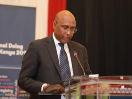 Trade, Industry, and Cooperatives CS Adan Mohamed