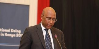 EAC CS Adan Mohamed. FILE PHOTO