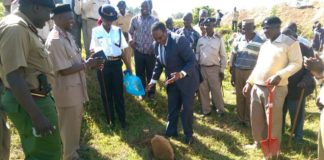 The Principal Secretary in the Ministry of Interior and Coordination of National Government Karanja Kibicho in Vihiga County