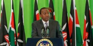 Uhuru Kenyatta insisted he has done a lot in the fight against corruption