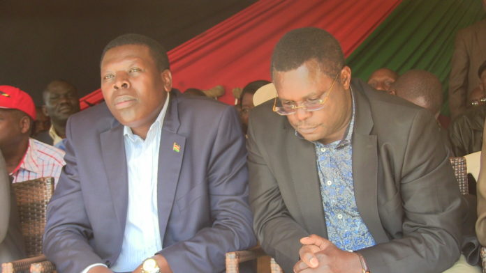Water CS Eugene Wamalwa and Bungoma Governor Ken Lusaka in a past function