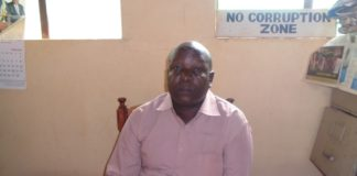 Nzoia location chief Josphat Edambo when he spoke to West media in his office