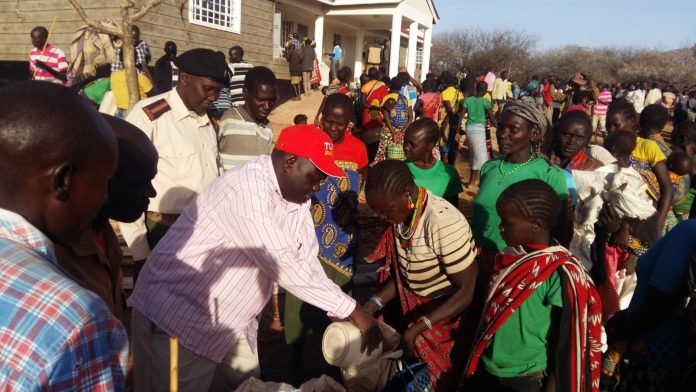 Food distribution has been ongoing in West Pokot county, and now herders are set to benefit from livestock relief feed