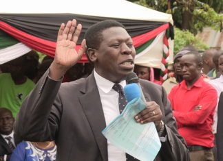Devolution Cabinet Secretary Eugene Wamalwa. FILE PHOTO