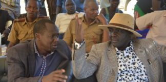 Governor Simon Kachapin and deputy governor Titus Lotee have urged the opposition to stop criticizing the Jubilee party