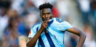 Harambee Stars striker Michael Olunga has joined Chinese team Guizhou Zhicheng