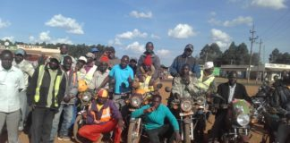 Boda boda operators in Matete want to be involved in the ongoing mass voter registration exercise