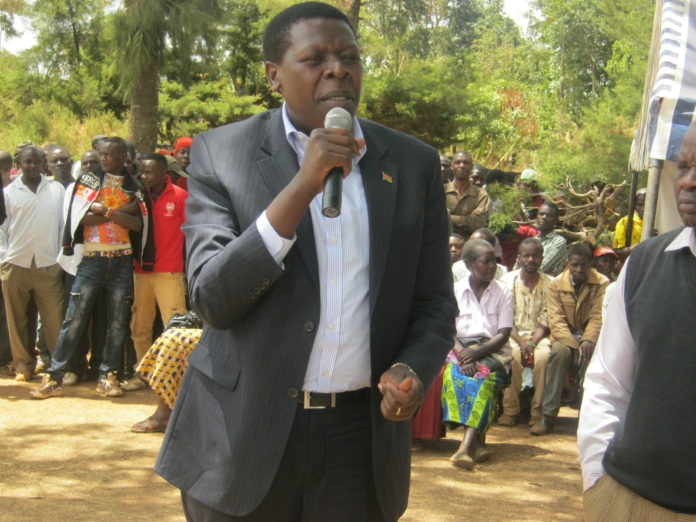 Devolution CS Eugene Wamalwa. FILE PHOTO