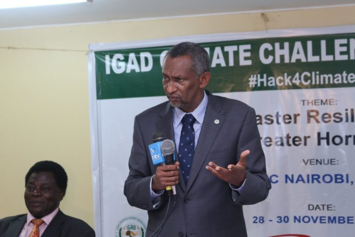 Amb. Mahboub Maalim, the IGAD Executive Secretary