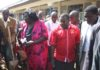 Water CS Eugene Wamalwa, Governor Ken Lusaka and Bungoma Women Rep. Reginalda Wanyonyi