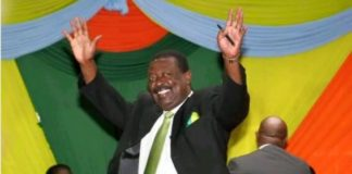 Amani National Congress party leader Musalia Mudavadi