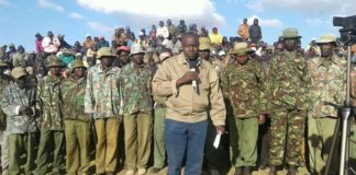 Pokot South MP David Pkossing has said NASA would've been a threat if Musalia Mudavadi was presidential candidate