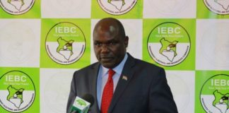 IEBC Chairman Wafula Chebukati has urged Kenyans to rally together to ensure we have a free, fair, and credible elections
