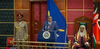President Uhuru Kenyatta addressed vital points during his speech, which include security, economy and devolution
