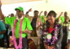 Leaders and officials of the Sacco during the meeting