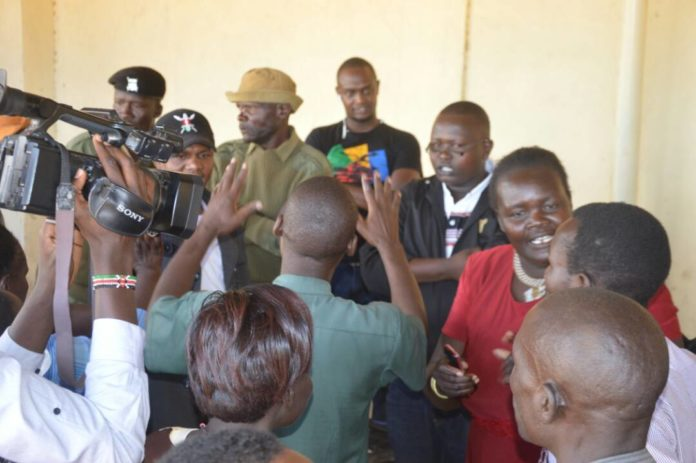 Confusion and chaos have marred the Jubilee nomination exercise in some centres in West Pokot County