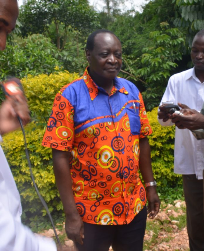Emuhaya MP Wilber Otichillo