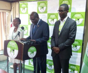 IEBC Chairman Wafula Chebukati said that the delivery of first batch of the KIEMS is expected mid month
