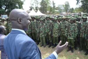 West Pokot County Governor Kachapin said projects had stalled in the County due to insecurity