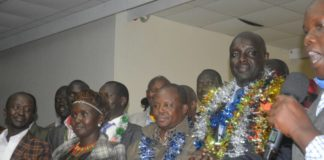 West Pokot Governor Simon Kachapin has won the Jubilee gubernatorial ticket in the County