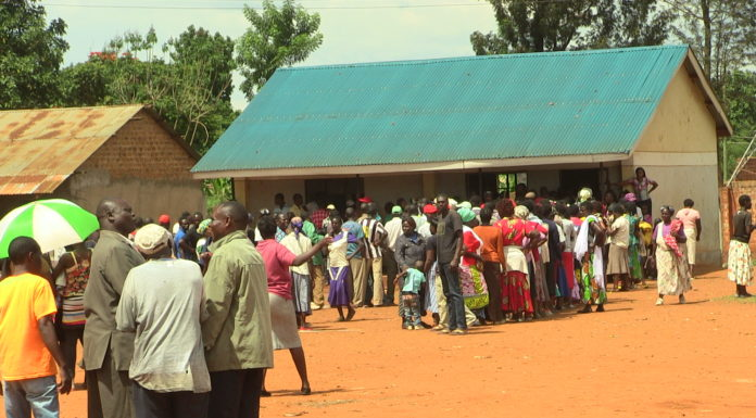 Voters at Kiminini voting station during ANC primaries