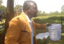 Mt Elgon KNUT Executive Secretary Stephen Chemonges