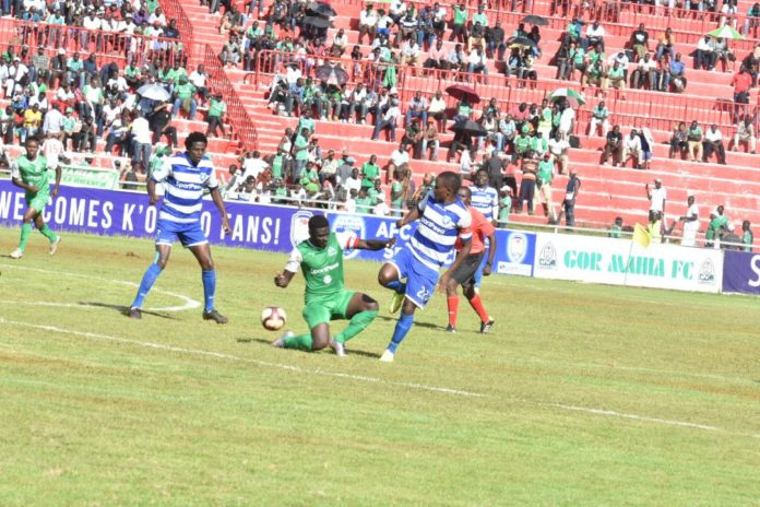 AFC Leopards coach Stewart Hall said his team were overwhelmed by the occasion during the 'Mashemeji' derby