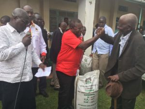 Governor Lusaka has said his administration is keen to tackle hunger in Bungoma County