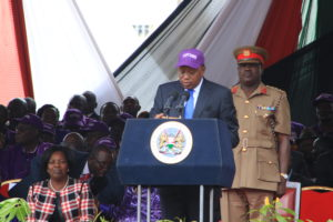 President Kenyatta has increased the minimum wage by 18%