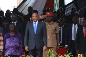 President Uhuru Kenyatta has insisted that his administration's job is to ensure there is a growing economy