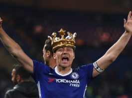 Chelsea defender John Terry scored a goal in their win against Watford