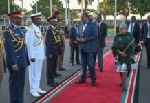President Uhuru Kenyatta is among the four African leaders invited to the summit