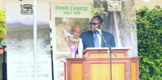 Kenya Wildlife Service (KWS) Assistant Director in charge of Mountain Conservation Area Simon Gitau