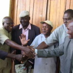 The Tachoni Council of Elders have thrown their weight behind Professor Charles Ngome as Wangamati's running mate