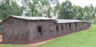 Classrooms at Musembe PAG primary school